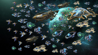 SpaceCraft Golden Armada