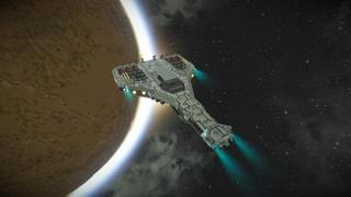 Planeten Entdeckung mit dem Star Cruser