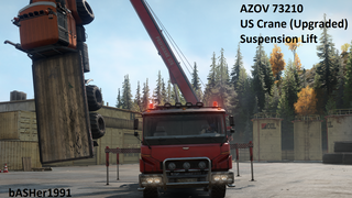 AZOV 73210 US Crane (Upgraded) and Suspension Lift