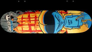 Blind Skateboards Gideon Choi Pyro