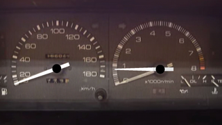 AE86 dashboard updated fixed rpm and speedometer