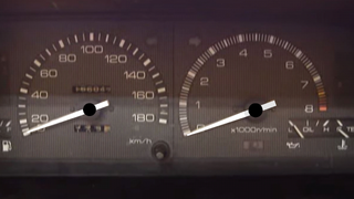 AE86 dashboard