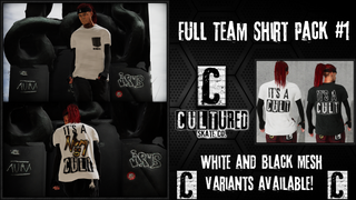 Cultured Full Team Shirt Pack #1
