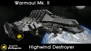 Warmaul Mk. II [Highwind Destroyer]