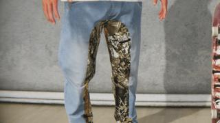 RE-UP Camo Denim Hybrid Jeans Realtree