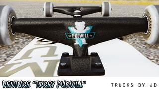 "Venture ""Torey Pudwill"" Trucks"
