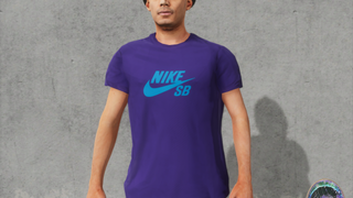 Nike SB Court Purple Shirt