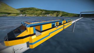 The apex orange train