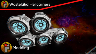 Rider's Helicarrier Thrusters - Wasteland
