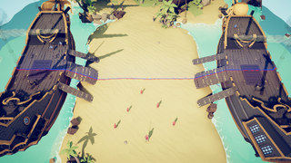 Knight Ren vs Pirate