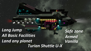 Turian Shuttle U - X