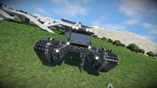 Reaper tracked expidition rover