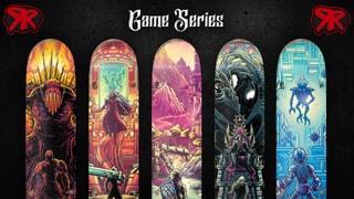 Red Rum Skateboards - Video Game Mini Series
