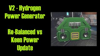 V2 Hydrogen Power Generator ( Re-Balanced )