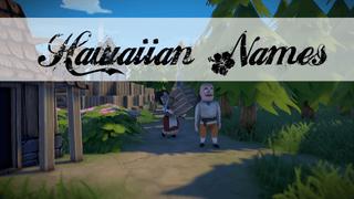 Hawaiian Names for Foundation
