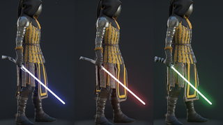 [Skin] Curved Hilt Lightsabers replace Rapiers
