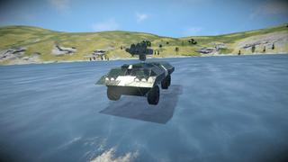 Greyhound recon vehicle