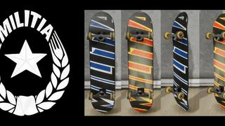 Militia Skateboards Decks
