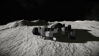 Moon Rover Saturn 4