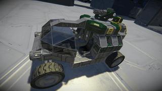 GreenCorp. Armed Recon Rover