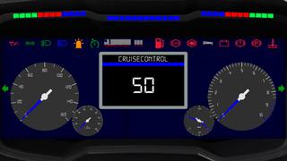 Scania R V8 Custom Dashboard