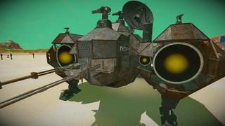Rust station Command Module