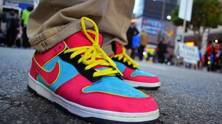 Unofficial Nike SB Dunk MrPacman Shoes!