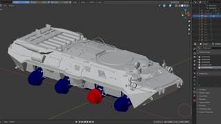 BTR-80 and tank ****** resource