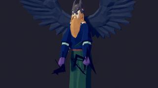 Dead king crow