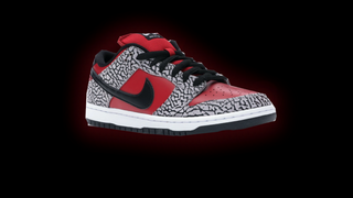 UnofficialNike SB Dunk Supreme Red@Black Shoes!