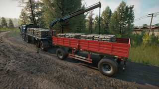 Rear Crane And New Vehicle Add-ons