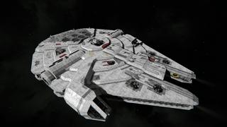 Star Wars Millennium Falcon YT 1300 (MODDED)