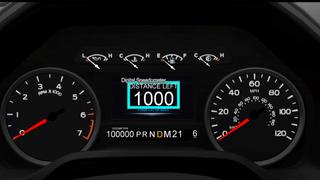 2020 ford f150 gauge