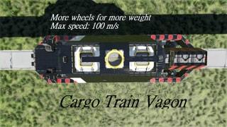 Cargo Train Vagon