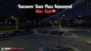 Vancouver Skate Plaza Remastered - After Dark