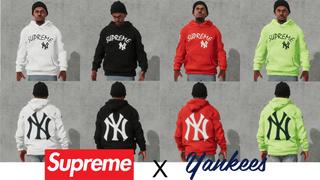 Supreme X Yankees Hoodie