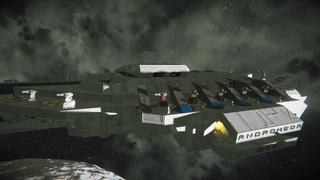 WGI Destroyer Class Battleship-Andromeda
