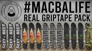 MACBA LIFE real griptape pack