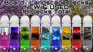 BOARD Landscape 9 New 9 Used 18 Decks
