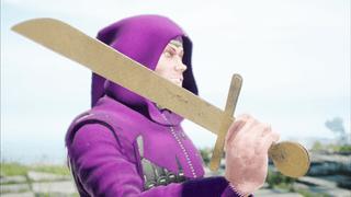 [LARP] Falchion - Cardboard Sword