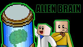 ALIEN BRAIN RESEARCH TUBE