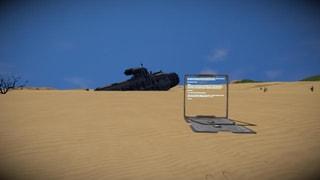 Crashed Battleship Survival