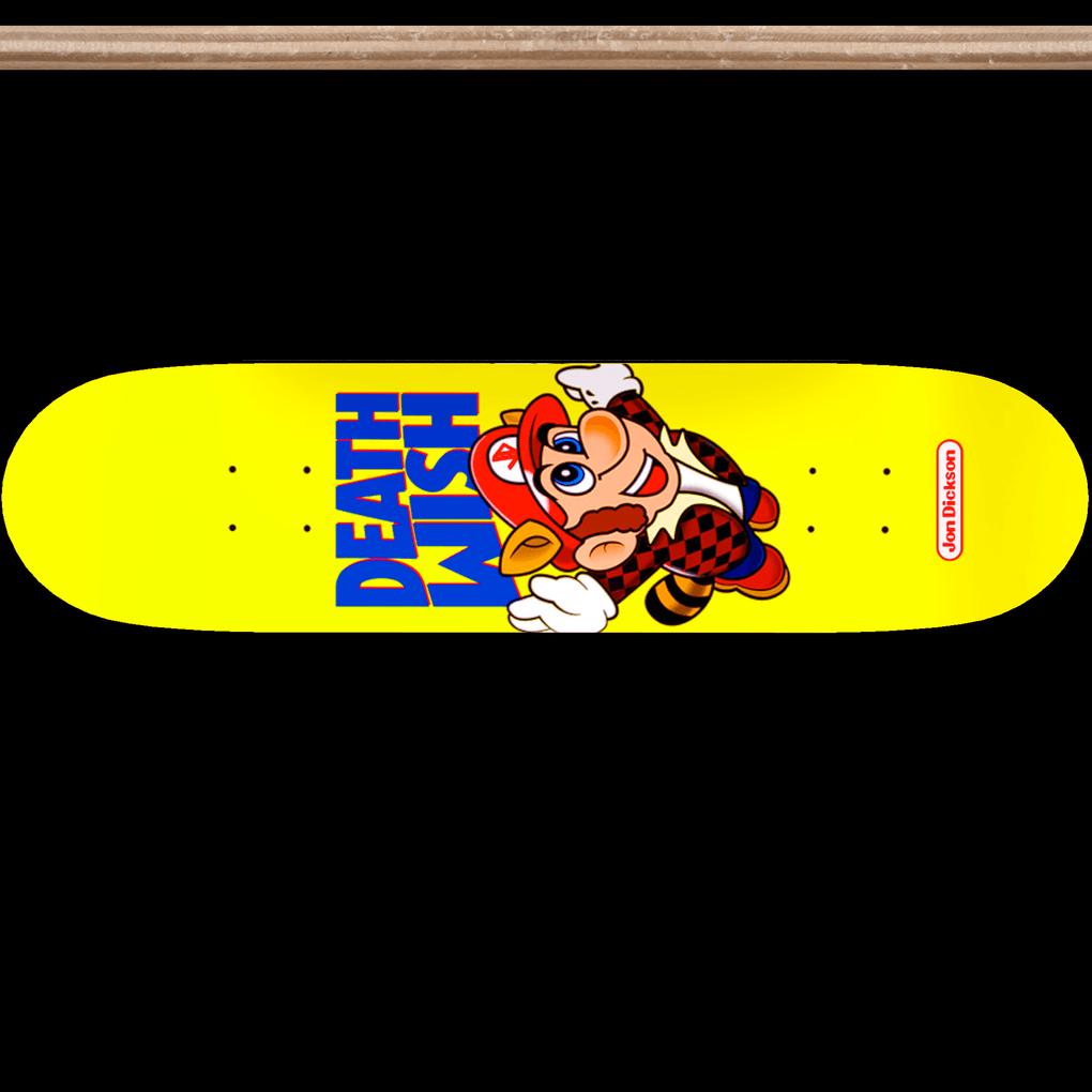 Deathwish Jon Dickson Super Mario Bros 3 NES Skateboard Sticker