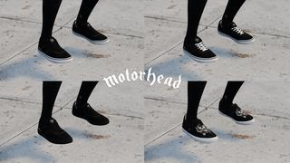 Motörhead Shoes Pack