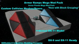 Armor Ramps & Panels Mod Pack