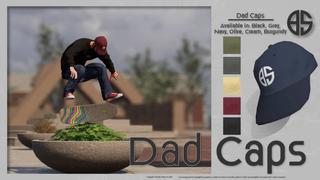 Binary - Dad Caps