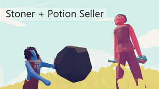 TABS - Shooter Game - Stoner and Potion Seller
