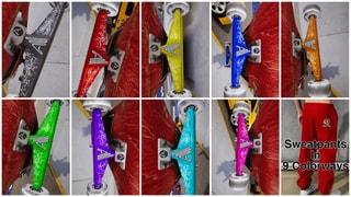 Authority SPARKZ 9 Colors + 9 Sweatpants