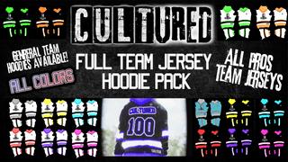 Cultured Hockey Jersey Hoodie Pack