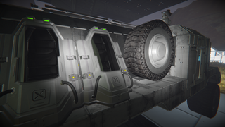 the fallen empire C3700 Truck medical
